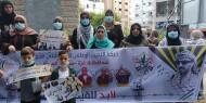 بالصور|| مجلس المرأة يشارك بوقفة تضامنية مع الأسرى في سجون الاحتلال غرب غزة