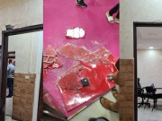 خاص بالفيديو|| أمن السلطة يعتدي على ممتلكات المواطنين ويحطم مطعما أثناء اقتحامه مخيم الأمعري