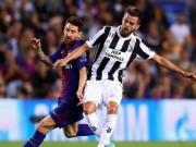 بالأسماء|| تشكيل اليوفي أمام برشلونة في دوري الأبطال