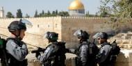 قوات الاحتلال ومستوطنون يقتحمون باحات المسجد الأقصى