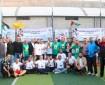 بالصور|| مجلس الشباب ينظم مباراة كرة قدم ودية في محافظة غزة