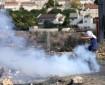 قوات الاحتلال تطلق قنابل الغاز خلال مواجهاتٍ في مدينة قلقيلية