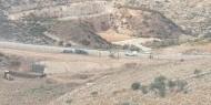 الاحتلال يجرف مساحات واسعة من أراضي قرية بروقين غرب سلفيت