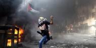 """على عهدى على دينى على أرضى تلاقينى.. """"أنا دمى فلسطينى"""""""