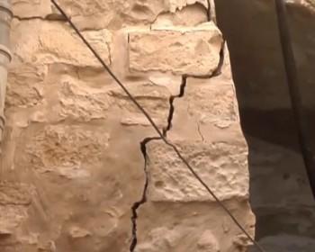 وقفة اعتصام ضد بلدية الاحتلال المتسببة في انهيار منازل حوش النرسات
