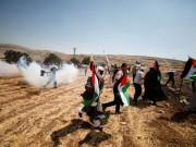 إصابات إثر قمع الاحتلال مسيرة سلمية في دير جرير شرق رام الله