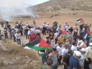 إصابات بالرصاص والاختناق خلال مواجهات مع الاحتلال شمال رام الله