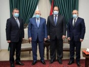 الرئيس عباس يلتقي برئيسي جهازي المخابرات العامة المصرية والأردنية