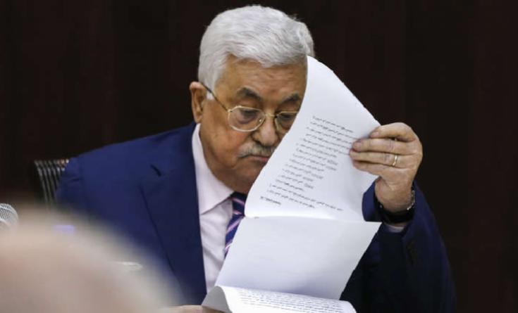 إطلاق أكبر حملة للتوقيع على عريضة لإنهاء حكم عباس