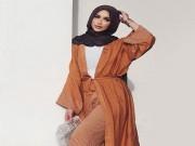 بالصور|| تصميمات ملابس تناسب الطويلات المحجبات