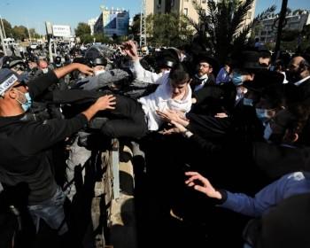 مواجهات بين الحريديم وشرطة الاحتلال بسبب الإغلاق