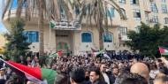 بالصور|| وقفة احتجاجية حاشدة للمحامين أمام مجلس القضاء الأعلى برام الله