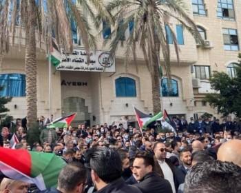 اعتصام مركزي لنقابة المحامين رفضا لقرارات بقانون لتعديل القضاء