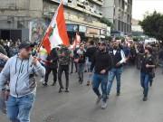 تظاهرات في لبنان احتجاجا على تردي الأوضاع الاقتصادية