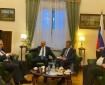 بالصور|| نائب وزير الخارجية الروسي يستقبل وفد تيار الإصلاح لبحث سبل استعادة الوحدة الفلسطينية
