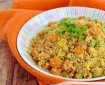 طريقة تحضير أرز القرنبيط بالخضار الصحي