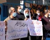 اعتصام في مخيم عين الحلوة رفضا لسياسات أونروا