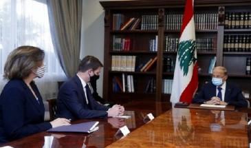 لبنان يطالب الاحتلال بعدم التنقيب بحقل نفطي في المياه المحاذية لشواطئه