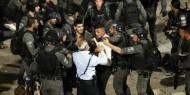 بالصور|| ليلة دامية في القدس.. 105 إصابات و50 معتقلا ودعوات لتصعيد الانتفاضة