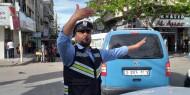أبو جياب: حركة مرورية هادئة على معظم المفترقات وتسجيل أربع حوادث طرق