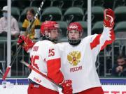 المنتخب الروسي يحصل علي الميدالية الفضية في بطولة العالم لهوكي الجليد
