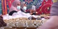 خاص بالصور والفيديو|| كعك المبادرون.. مبادرة غزية لتوزيع الكعك على الأسر المتعففة في رفح