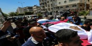بالصور   تشييع جثمان الشهيد الصحفي يوسف أبو حسين