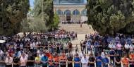 25 ألف مصل يؤدون الجمعة في المسجد الأقصى