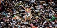 بالصور   تشييع جثمان الشهيد فادي وشحة في رام الله