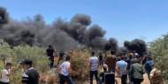 8 إصابات بالرصاص والعشرات بالاختناق خلال مواجهات مع الاحتلال جنوب شرق نابلس