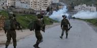 إصابتان بالرصاص الحي خلال مواجهات مع الاحتلال غرب رام الله