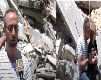 خاص بالفيديو|| الطفل أحمد اليازجي.. نجا من الموت بأعجوبة ليصبح يتيما للمرة الثانية