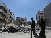مركز تجميل مهني لم يسلم من صواريخ الاحتلال