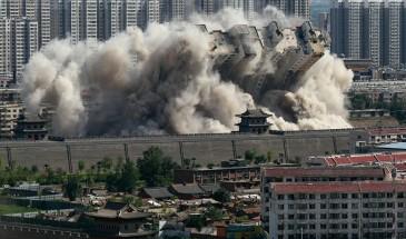 الصين: 12 قتيلا على الأقل جراء انفجار غاز بمبنى