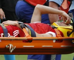 إصابة خطيرة تضرب المنتخب الروسي في يورو 2020 (فيديو)