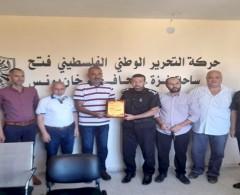 تيار الإصلاح في محافظة خان يونس يستقبل وفدًا من الدفاع المدني
