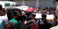 بالصور   تيار الإصلاح الديمقراطي يشارك بتشيع جثمان المناضل نافذ اللوح في غزة