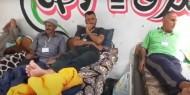 خاص بالصور والفيديو   أهالي شهداء 2014 يواصلون اعتصامهم المفتوح ويدخلون في إضراب عن الطعام