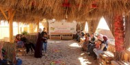 """بالصور   مجلس شباب ساحة غزة يطلق مبادرة """"أطفالنا الأمل"""""""