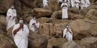 الحجاج يقفون على صعيد عرفات لتأدية الركن الأعظم اليوم