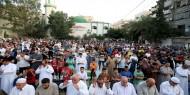 أجواء صلاة عيد الأضحى المبارك في مدينة غزة