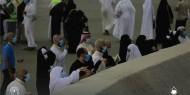 حجاج بيت الله الحرام يبدءون رمي الجمرات الثلاث في أول أيام التشريق