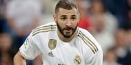 ريال مدريد يعلن إصابة كريم بنزيما بكورونا
