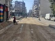 بالصور|| بلدية غزة تبدأ في صيانة الشوارع المتضررة بفعل العدوان