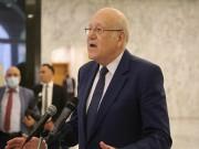 """ميقاتي: نتطلع لتشكيل حكومة لبنانية في """"المستقبل القريب"""""""