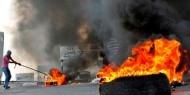 إصابة بالرصاص والعشرات بالاختناق خلال المواجهات شرق الخليل