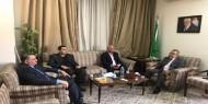 """أبو هولي يبحث مع الأمين العام المساعد للجامعة العربية مستجدات الأزمة المالية لـ""""أونروا"""""""