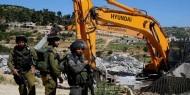 سلطات الاحتلال تهدم منزلا خشبيا في رهط بالداخل المحتل