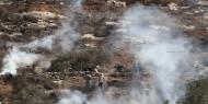"""الهلال الأحمر: 11 إصابة بالرصاص المعدني خلال مواجهات """"بيتا"""""""