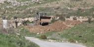 الاحتلال يغلق طرقا في يعبد جنوب غرب جنين